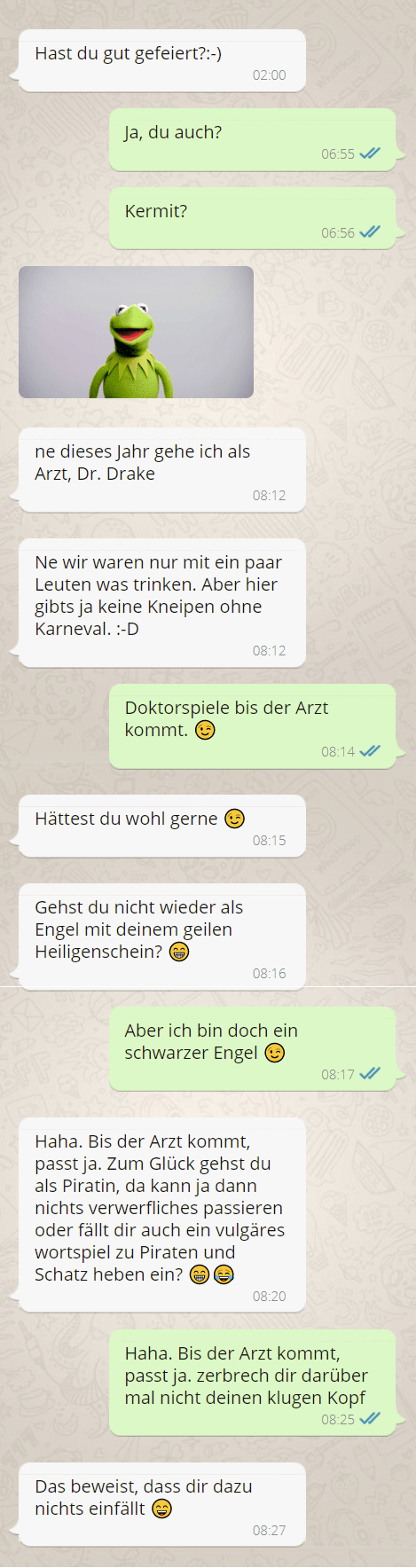 Ex zurück - SMS Chat nach der Kontaktsperre