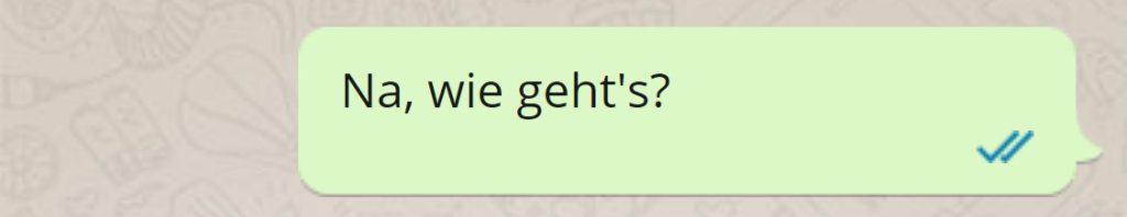 Langweilige SMS an Ex: Wie geht's?